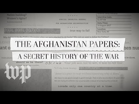 Exclusive: A Secret History Of The War In Afghanistan, Revealed