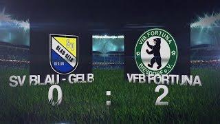 [19.Spieltag der Landesliga] SV Blau-Gelb Berlin vs. VFB Fortuna Biesdorf