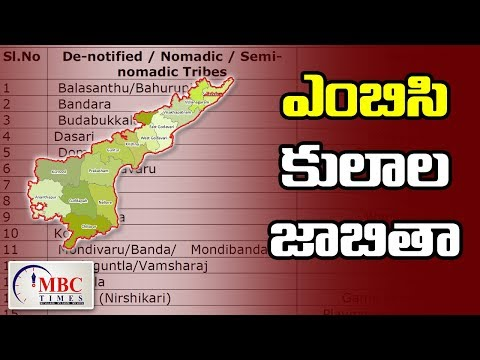 Andhra Pradesh MBC Caste List   Most Backward Classes   MBC Times