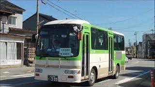 【代走・車両走行シーン】富山ライトレール フィーダーバスに富山地鉄の一般車
