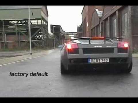 Edo Lamborghini Gallardo Sle Sound Engineering Youtube