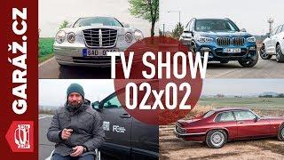 GARÁŽ.cz 02x02 - Jaguar XJS, Bmw X3 M40i vs. Volvo XC 60, Kia Opirus a Auto pro handicapované