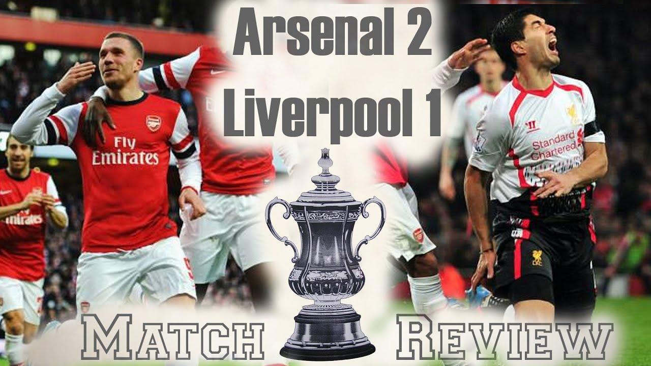 Arsenal Vs Liverpool   Fa Cup   Youtube