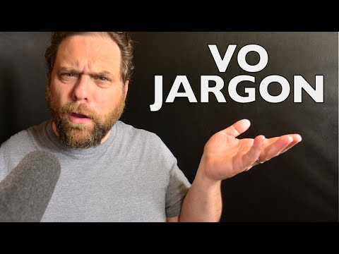 Essential Voiceover Jargon to know