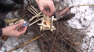 видео Мастер-класс по разжиганию костра