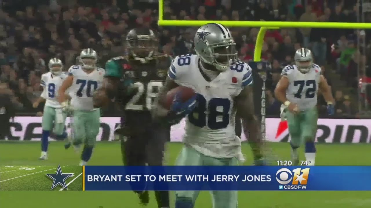 Jerry Jones Dez Bryant Meeting At The Star