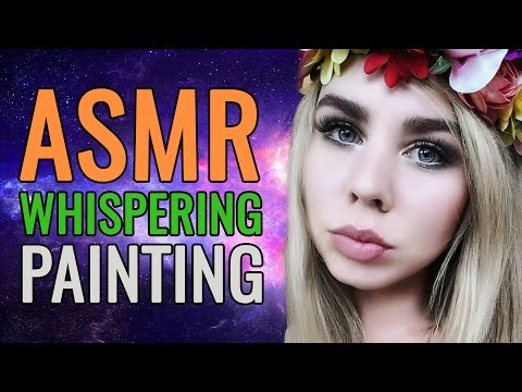 ASMR Whispering Painting Space