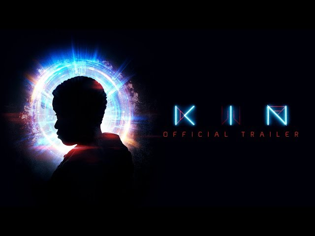 KIN – In Theaters August 31, 2018. Starring Jack Reynor, Zoë Kravitz, Carrie Coon, with Dennis Quaid, and James Franco, introducing Myles Truitt.