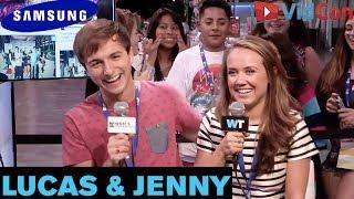 Lucas & Jenny - JENNY'S FIRST VIDCON! | #VIDCON2014