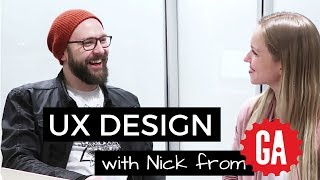 Intro into UX: Interview with Nick, a UX Instructor at General Assembly | #UXJanuary