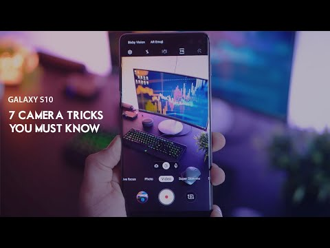 Galaxy S10 - 7 Camera Features YOU MUST KNOW!