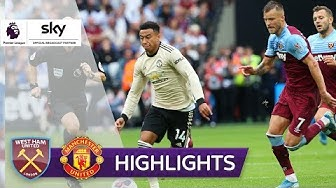 Hammers überholen Red Devils | West Ham United - Manchester United 2:0 | Highlights - Premier League