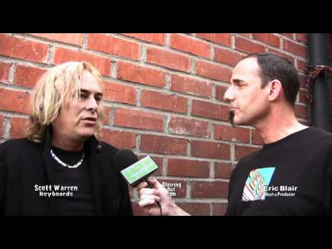 Former Dio / Heaven & Hell keyboardist Scott Warren talks w Eric Blair 2011