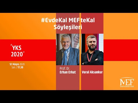 """EvdeKal MEFteKal Söyleşileri - 11 """"YKS 2020"""""""