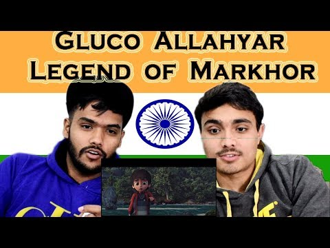 Indian Reaction on Gluco Allahyar and the Legend of Markhor |Trailer Reaction | Swaggy d