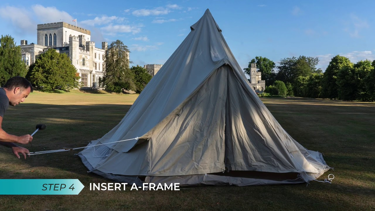 How To Erect Your New Bell Tent