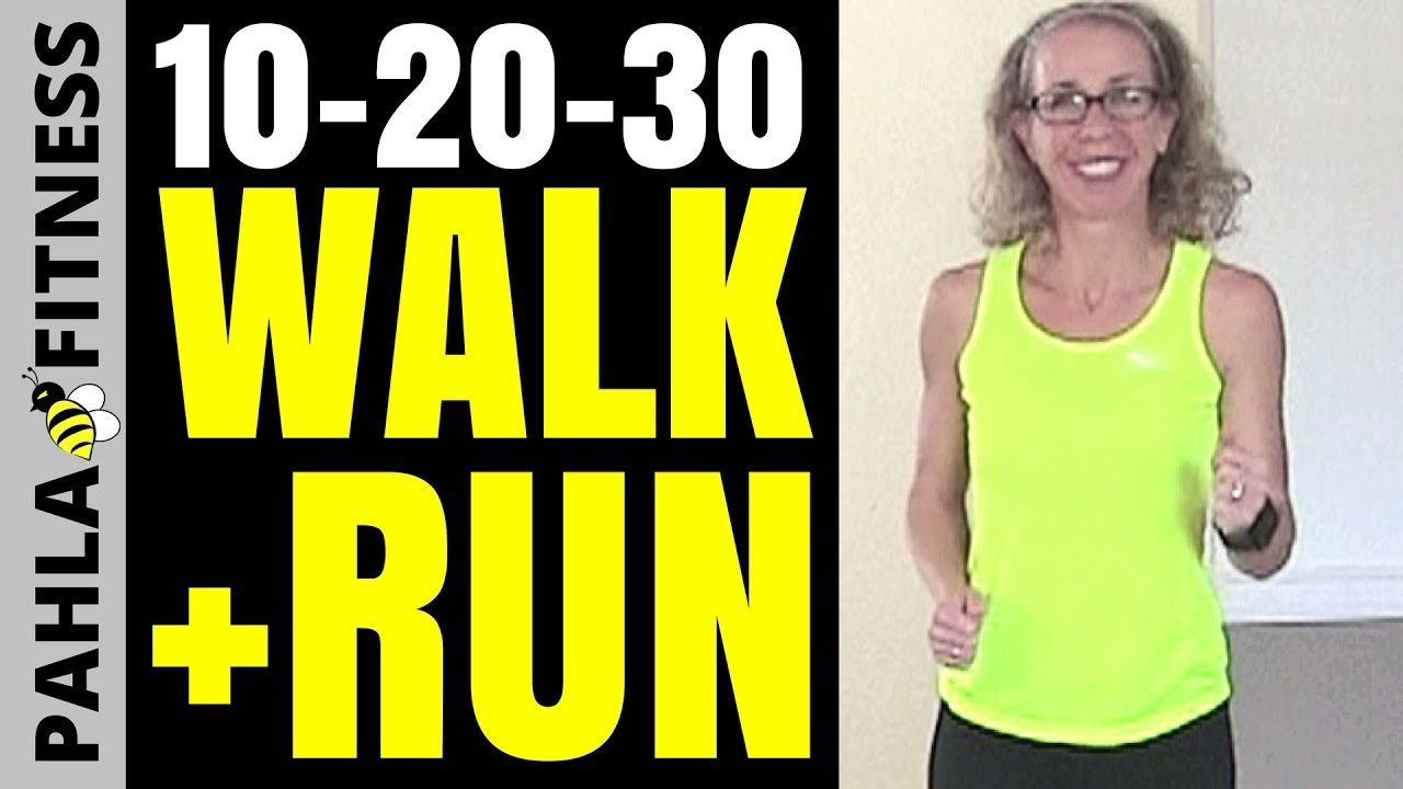 10 20 30 walk jog run intervals 20 minute indoor walking