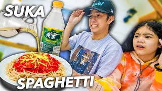 Eating the WEIRDEST Food Combinations! (Grabe!) | Ranz and Niana