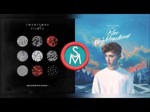 twenty one pilots vs Troye Sivan - Stressed Out for him. (Mashup)