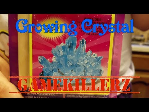 Growing Crystal Unboxing - GameKillerz