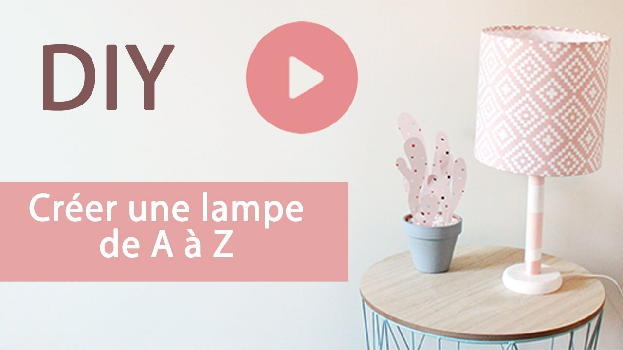 diy lampe branchements electriques et abat jour en tissu a faire soi meme youtube. Black Bedroom Furniture Sets. Home Design Ideas