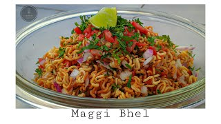 Maggi Bhel Recipe | Crunch Maggi chaat | Sagar Mehta Kitchen Recipe's