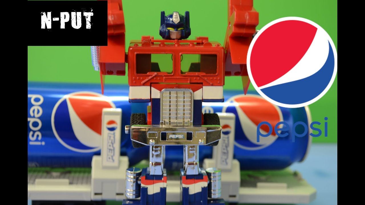 Transformers Pepsi Prime Review by N-PUT
