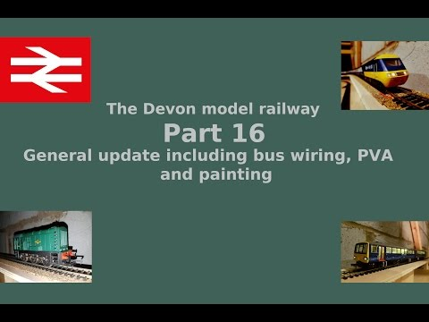 Part 16 General update – Building a model railway