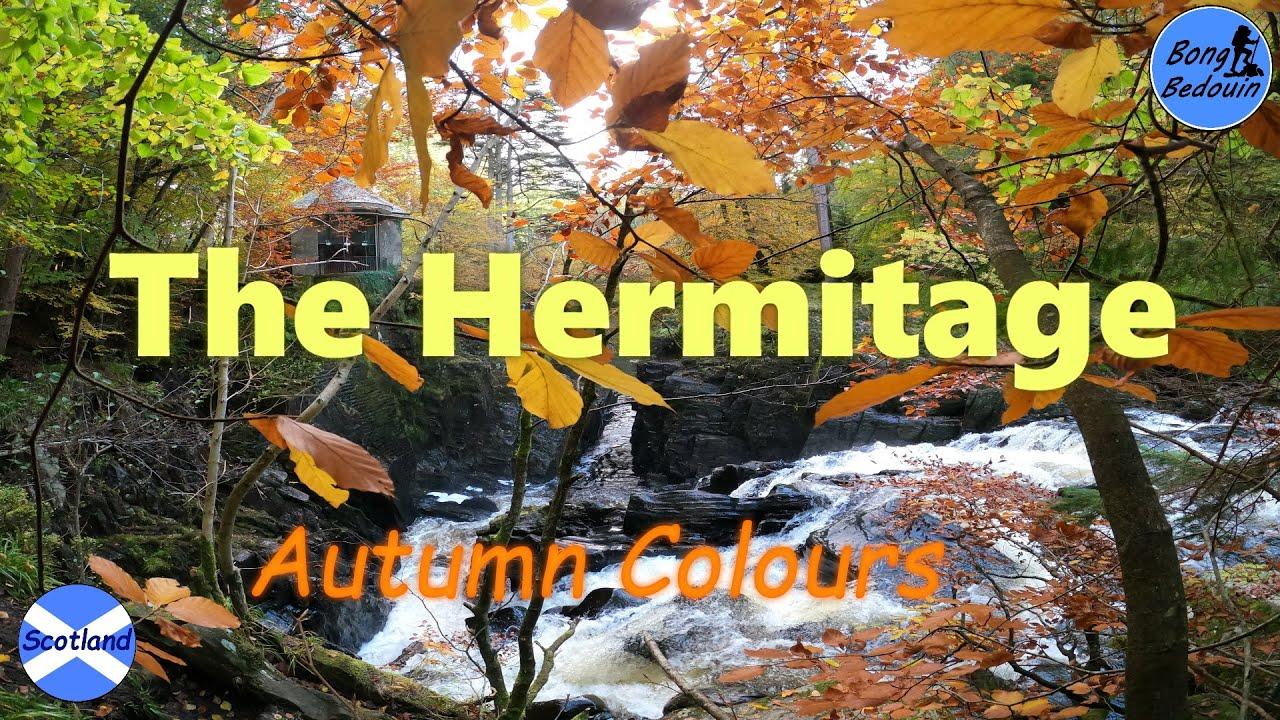 Download The Hermitage | Autumn in Scotland | Dunkeld | Perthshire | Scotland | Bengali Travel Vlog