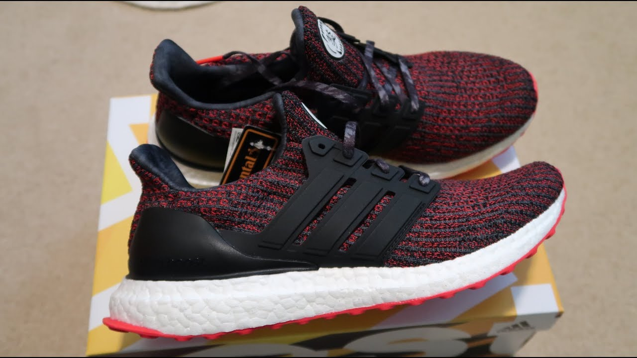 818d2aa336d Adidas Ultra Boost 4.0 Chinese New Year Sneaker Unboxing