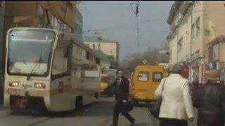 Guy vs Tram