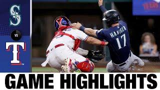 Mariners vs. Rangers Game Highlights (8/18/21)