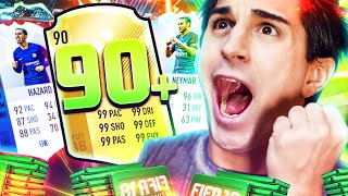2 WALKOUT DI FILA, 90+ PLAYER E TANTI IF!! ETOTTS PACK OPENING! Fifa 18