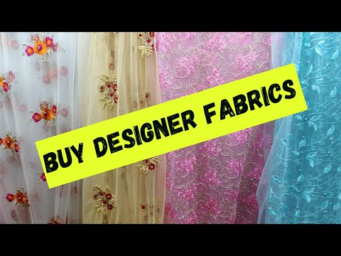 Buy Designer Net Fabric for Saree n Dress!!Thread Work,Moti work and So on.. Online Available