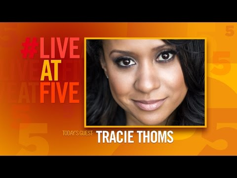 Broadway.com LiveatFive with Tracie Thoms