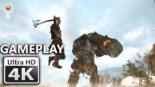 God of War - E3 2016 4K Gameplay Trailer