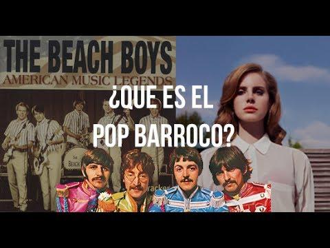 ¿Que es el pop barroco?