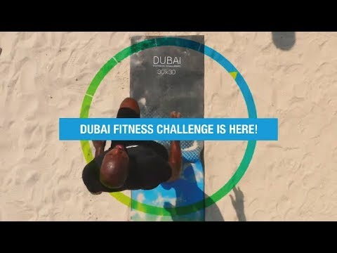 Dubai Fitness Challenge Kicks Off