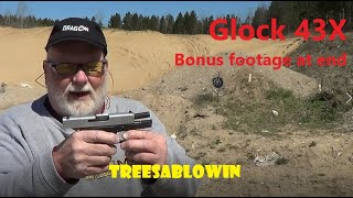 Glock 43X  extra video at END
