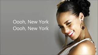 Alicia Keys-- Empire State Of Mind... {in New York}