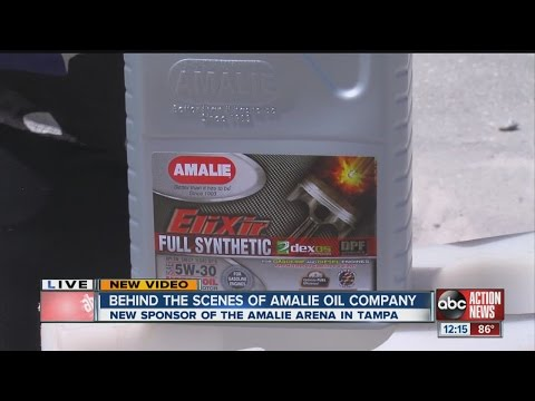 Behind the scenes of Amalie Oil Company