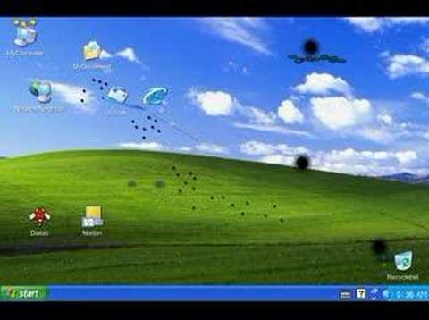 Icon Story - WAR on the XP desktop