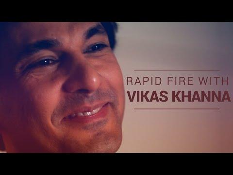 The IFN Rapid Fire With Chef Vikas Khanna