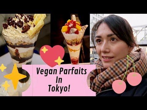 Trying Vegan Parfaits in Tokyo!