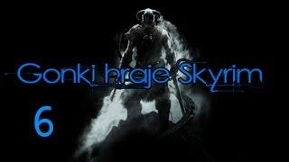 Gonki hraje Skyrim! ep.6 Dragon!! poor dragon! :D (HD)