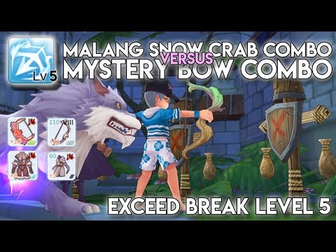 MALANG SNOW CRAB COMBO VS MYSTERY BOW COMBO W/ EXCEED BREAK