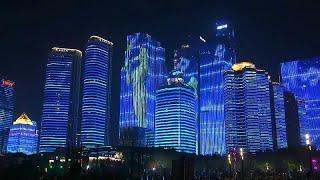 شاهد: الصين تبهر العالم عبر إضاءة مدنها في عيدها الوطني التاسع والستين…