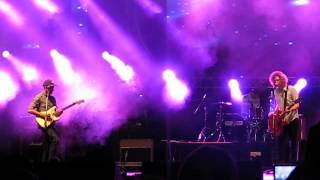 "Relient K new song ""Collapsible lung"" - Easterfest 2013"