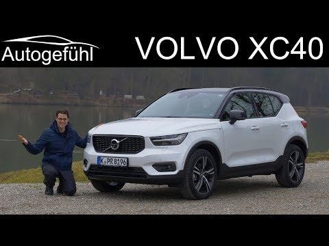 Volvo XC40 FULL REVIEW R-Design T5 - Autogefühl