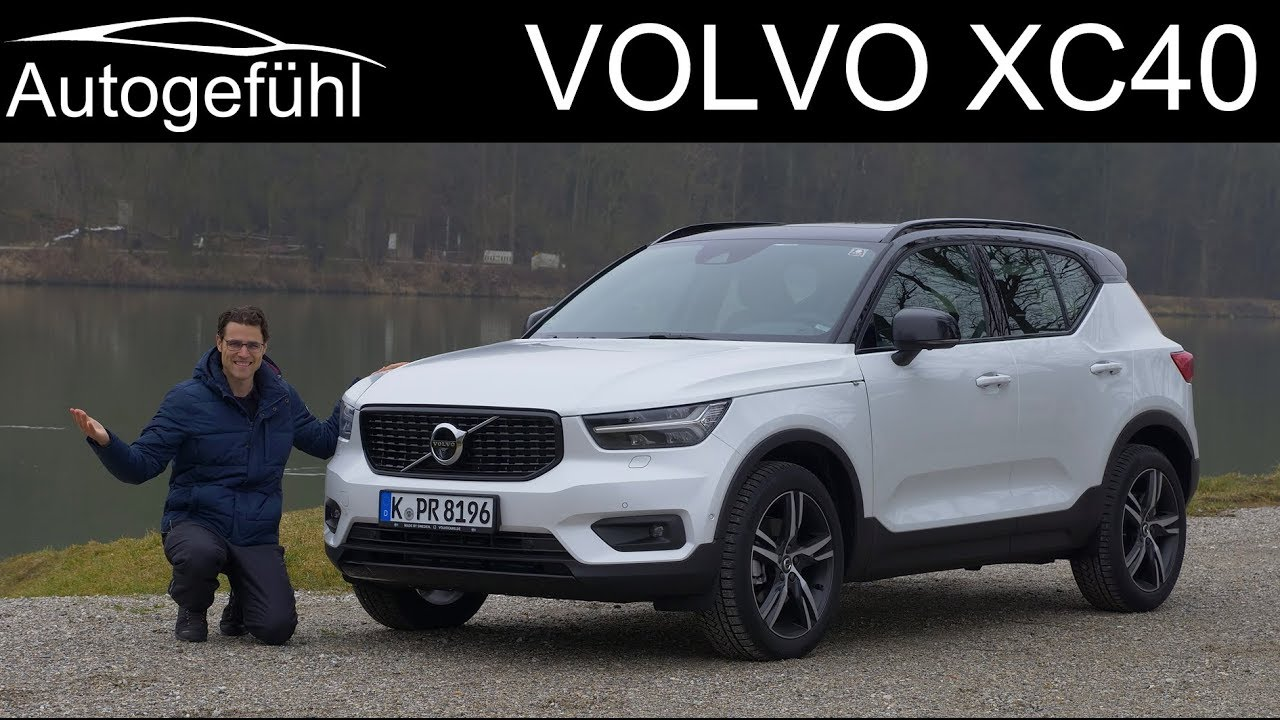 volvo xc40 full review r-design t5 - autogef u00fchl